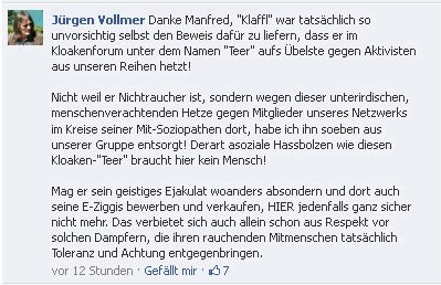 "Jürgen Vollmer  Marburg ""Kloakenforum"""
